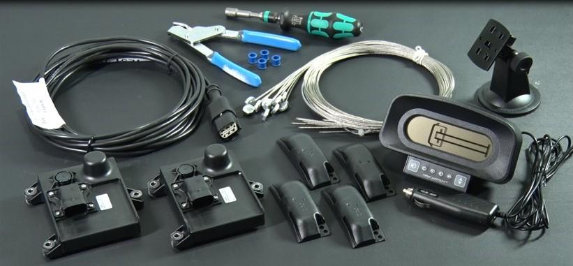 LDL technology社製タイヤ空気圧モニタリングシステム TPMS 10輪用